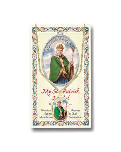 St Patrick Enameled Patron St