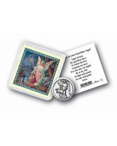 Guardian Angel Coin In Case with