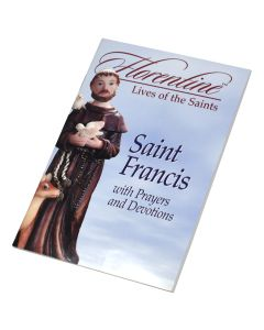 Saint Francis With Prayers And