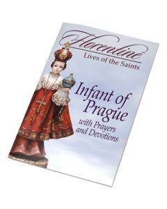 Infant Of Prague With Prayers
