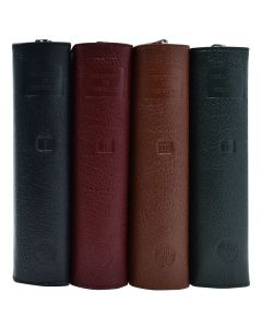 Loh Leather Zipper Case Set Of