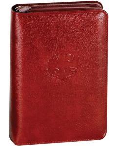 Christian Prayer Leather Zip