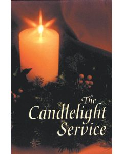 Candlelight Service Preprinted (100)