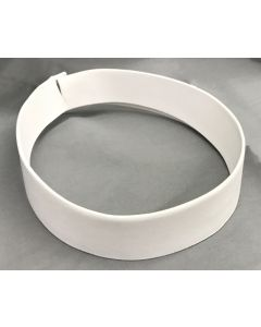 Collar Wht 2ply Fabric (Box of 4)