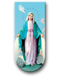 Our Lady Miraculous Medal Magnetic Bookmark