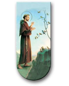 Prayer To St Francis Assisi Megnectic Bookmark