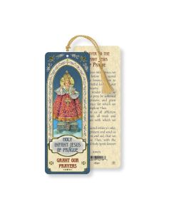 Infant of Prague Bookmark