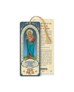 Imm Heart of Mary Bookmark