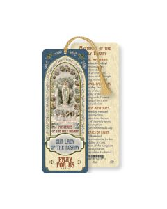 Our Lady of the Rosary Bookmark