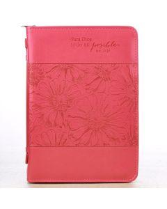 Forro rosado Mt. 19:26