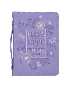BC LL Purple Floral Lg Jer 29:11