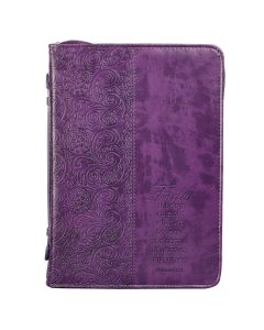 Faith - Purple LuxLeather Med