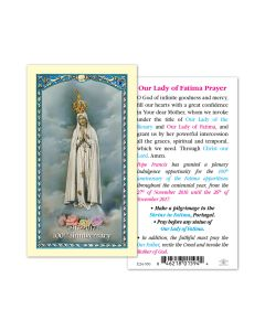 PRAYER TO THE Our Lady OF FATIMA 1