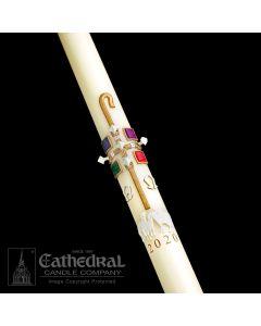 The Good Shepherd Paschal Candle