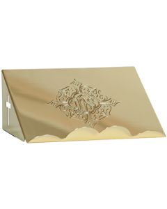 Bible Stand Gold Plate