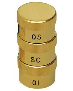 Triple Oil Stock Gold Plate