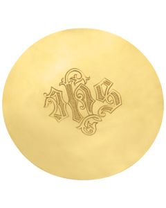 Paten Gold Plate IHS