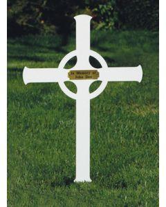 Memorial Cross Celtic design