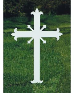 Memorial Cross Fleur-de-lis de