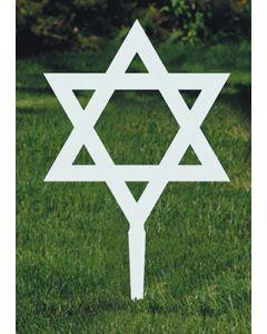 Memorial Marker Star of David