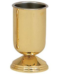 Vase EACH BRS /W Liner