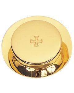Pyx/Burse Gold Plate