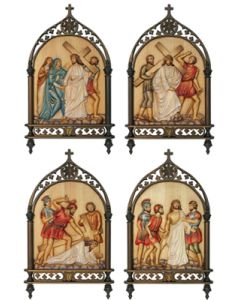 Stations Of The Cross 1-14 Gothic