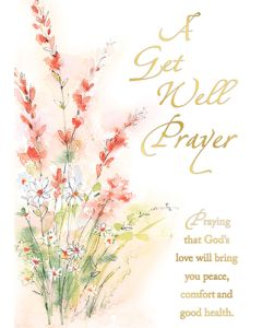 Get Well Prayer Mass Card (1 BX/50)