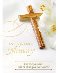 Mass Card In Loving Memory (100)