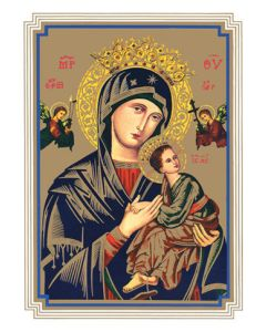 Our Lady of Perpetual Help Mass Card (100)