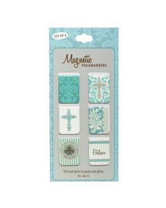 """""""Believe"""" Set of 6 Small Magnetic Pagemarkers (3 pkg)"""