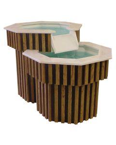 2 Tier baptismal font