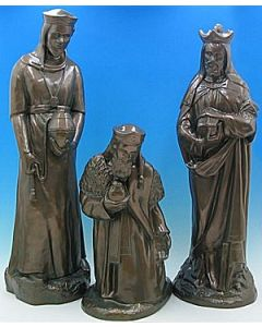 Set Three Kings Bronze