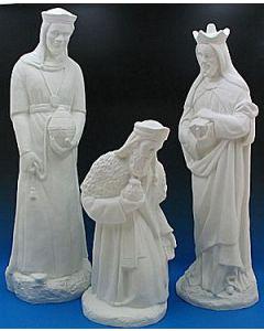Nativity Full Set White