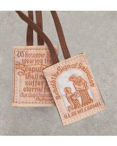 Scapular Brown Cloth