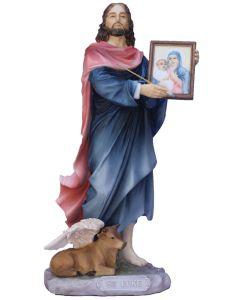 """St Luke Hand Painted 8"""""""
