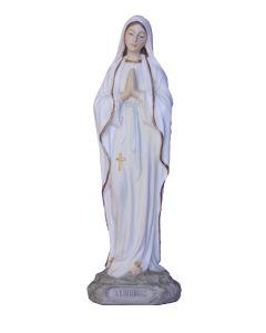"""Our Lady of Lourdes 8"""" Color"""