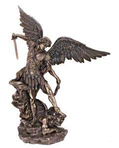 "St Michael 31"" Bronze"